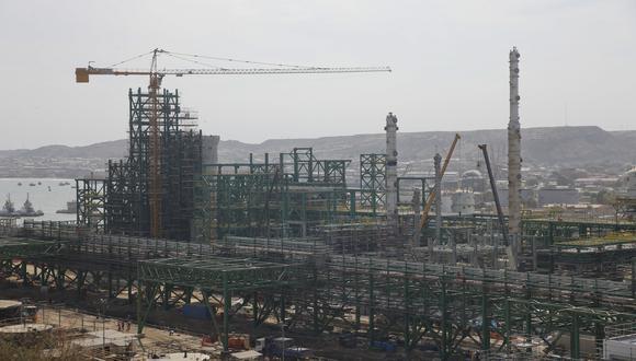 La modernización de la refinería de Talara continúa en proceso. (Foto: USI)