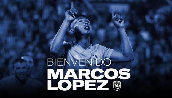 Marcos López fue elogiado por el entrenador Matías Almeyda. (Foto: SJEarthquakes)