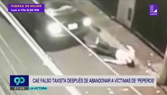 El taxista fue ubicado y capturado gracias a la denuncia de una de sus víctimas. (Latina)
