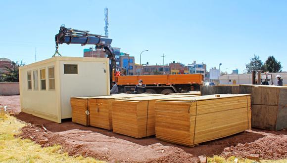El centro de Juliaca estará implementado en los próximos días.