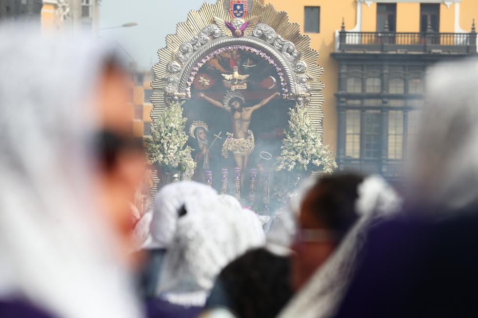 Conoce cuál será el recorrido de la procesión del Señor de los Milagros el 18 y 19 de octubre. (Perú21)