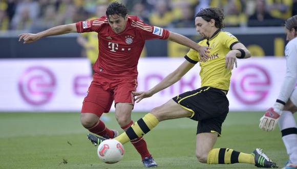 IRÁ POR MÁS. Pizarro ganó la Bundesliga, Copa Alemana y Champions la temporada pasada. (AP)