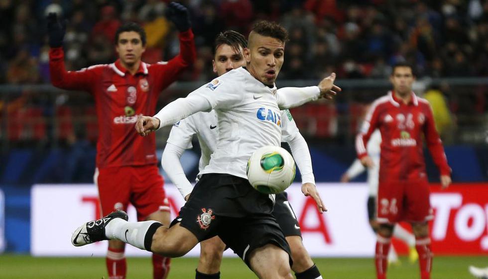 Guerrero peleó todas las pelotas para poder aumentar la cuenta del 'Timao'. (Reuters)
