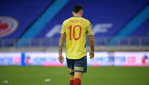 Colombia recibió nueve goles en esta fecha doble de Eliminatorias Qatar 2022. (Foto: AFP)
