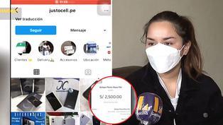 Joven es estafada con S/2500 al intentar comprar Iphone por redes sociales
