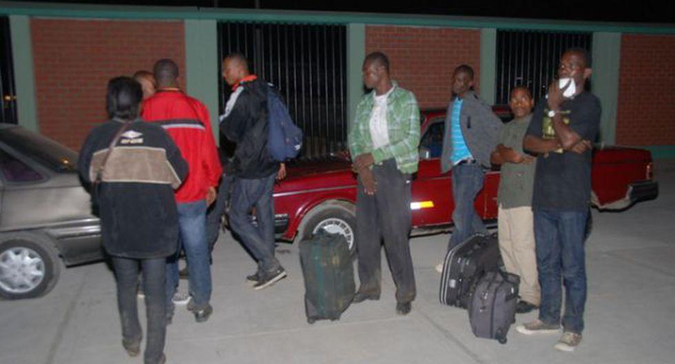 Policía detuvo a 31 haitianos ingresaron al Perú ocultos en camión frigorífico. (Andina)
