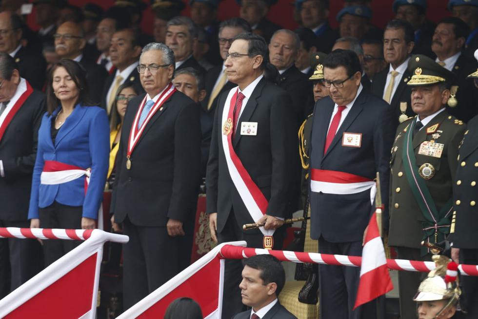 Ceremonia por el 139 aniversario de la Batalla de Arica. (Fotos: GEC/Mario Zapata Nieto).