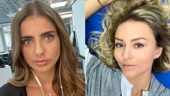 Michelle Renaud y Angelique Boyer vivieron experiencias inolvidables cuando fueron parte del elenco de Rebelde (Foto: Michelle Renaud / Angelique Boyer / Instagram)