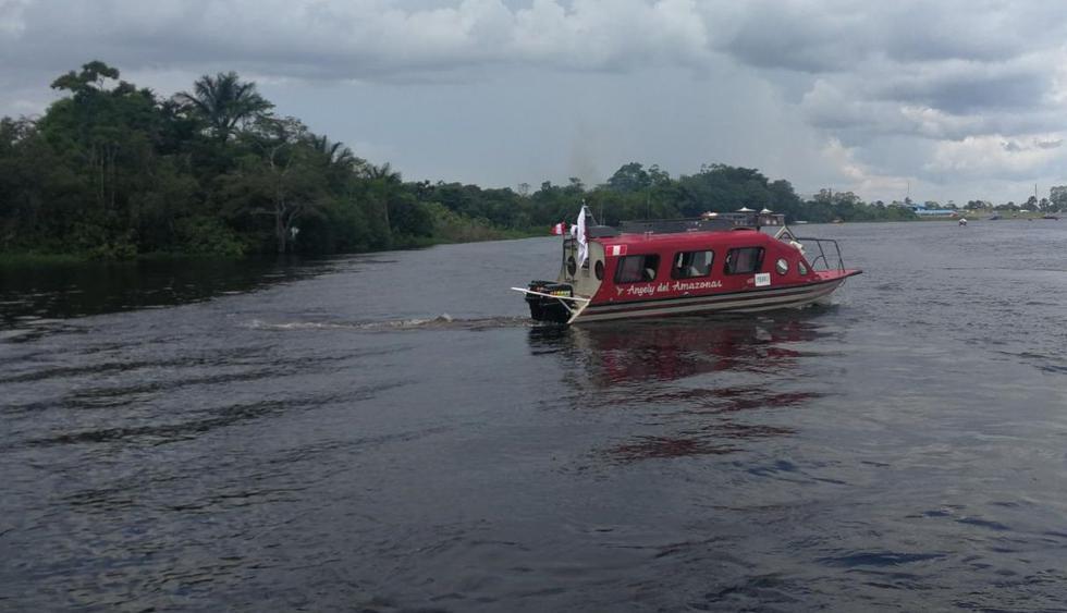 """Los especialistas viajarán a bordo de la unidad fluvial """"Angely del Amazonas"""" para visitar las comunidades indígenas y realizar despistajes de VIH. (Ministerio de Salud)"""