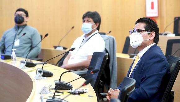 El MTC recibió al fiscal Hamilton Montoro del equipo especial Lava Jato por caso Arbitrajes. (Foto: MTC)