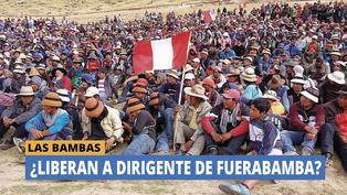 Las Bambas: Ministerio Público decidirá hoy si libera a dirigente de Fuerabamba