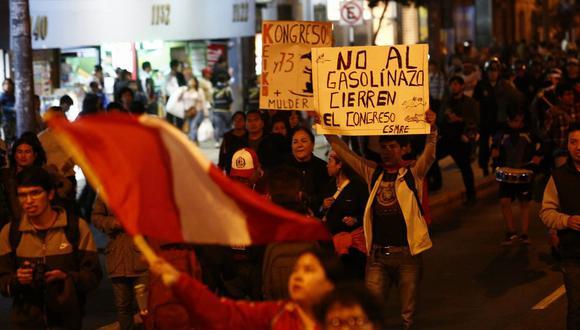 Los peruanos son los que menos confían en su Congreso en la región. (USI)