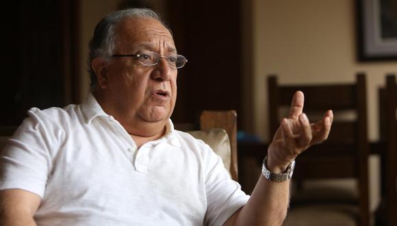 El politólogo Fernando Tuesta comentó que dijo que último sondeo de Datum reafirma la ubicación de Yonhy Lescano en el primer lugar de las preferencias. (Foto: GEC)
