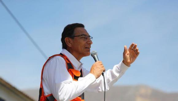 Vizcarra también se refirió a la viabilidad del proyecto minero Tía María en Arequipa. (Foto: GEC / Video: TV Perú)