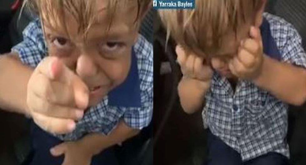 Pese a su complicada situación, la madre difundió el videoclip para concientizar en torno al peligro que implica el bullying. (Composición/Captura)