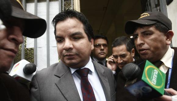 Por ética. El caso lo archivó un exfiscal anticorrupción que coordinaba con oficina de Arbizu. (César Fajardo)