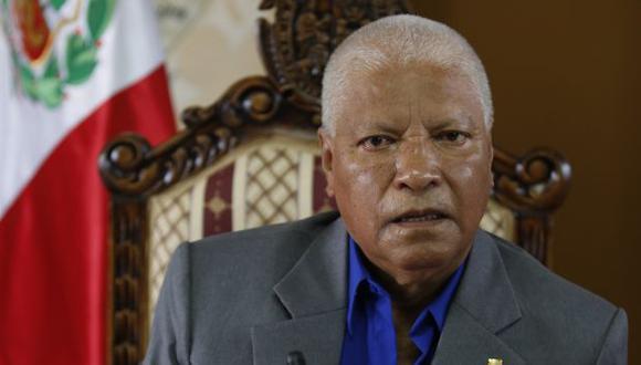 El rector de la universidad de San Marcos negó aferrarse al cargo. (USI)