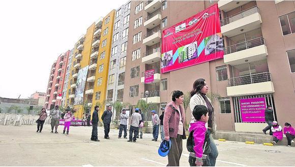 En el caso de Chile y Perú, el segmento medio de vivienda concentraba el 49% de la oferta disponible, según información recopilada hasta el cuatro trimestre del año pasado.