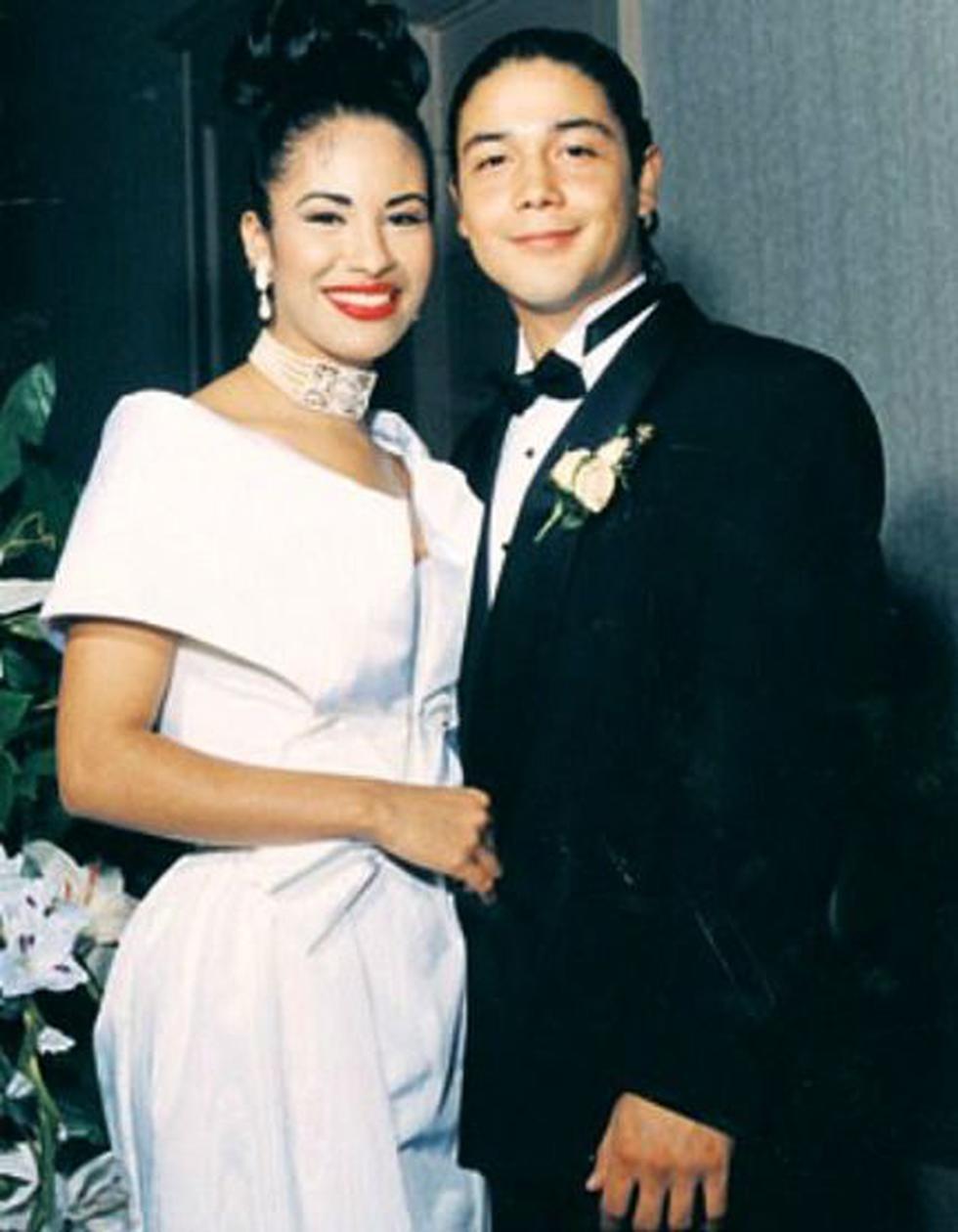 Selena Quintanilla y Chris Pérez.