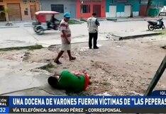 Iquitos: unos 12 hombres aparecen inconscientes en las calles tras ser víctimas de 'peperas'