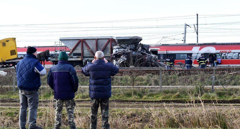 El tren había salido de las estación central de Milán pocos minutos antes de accidentarse. (AFP)