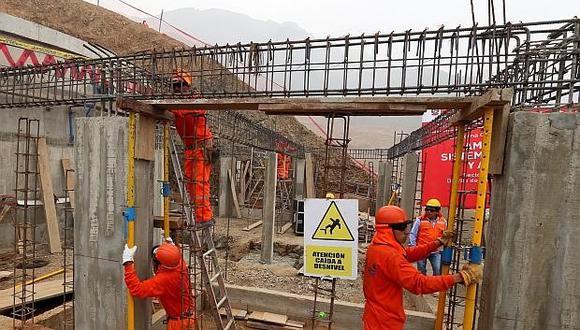 El sector construcción fue uno de los que más contribuyó al empleo. (Foto: GEC)