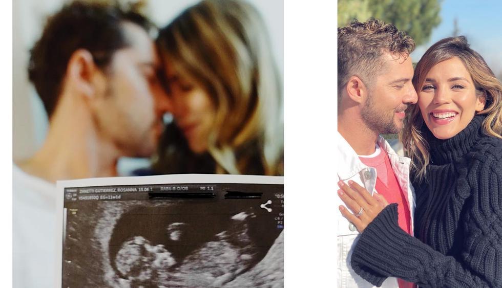David Bisbal y Rosanna Zanetti revelan el sexo de su bebé (Fotos: Instagram @rosannazanetti)