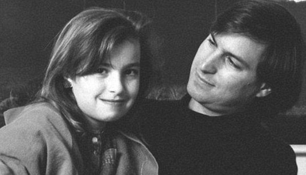 La relación entre Steve Jobs y su hija Lisa fue complicada. (Daily Mail)