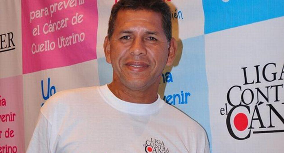 José Luis 'Puma' Carranza se unió a la campaña contra el cáncer de cuello uterino. (Difusión)