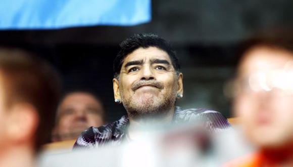 El último adiós. Maradona llegó a Cuba para despedirse de Fidel Castro. (AFP)
