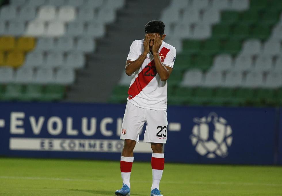 Selección peruana cayó ante su similar de Bolivia por el torneo Sub-23. (Foto: Violeta Ayasta/GEC)