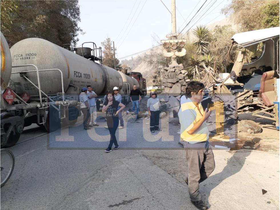 El accidente dejó 10 personas heridas, 9 de ellas eran escolares. (Difusión)
