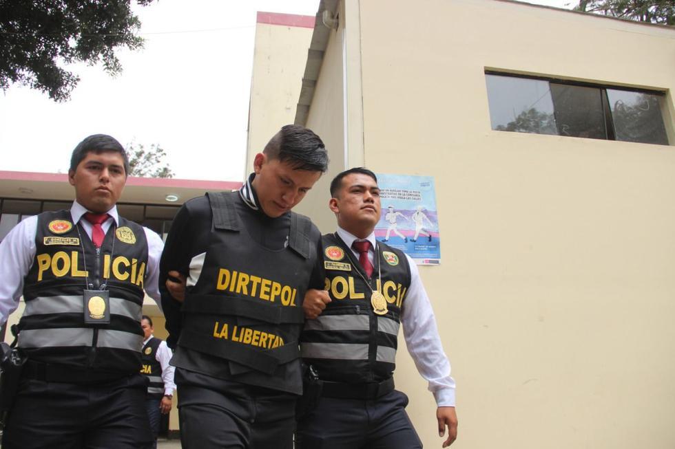 Esta tarde se realizará la audiencia de prisión preventiva contra 'Gringasho'. (Alan Benites)