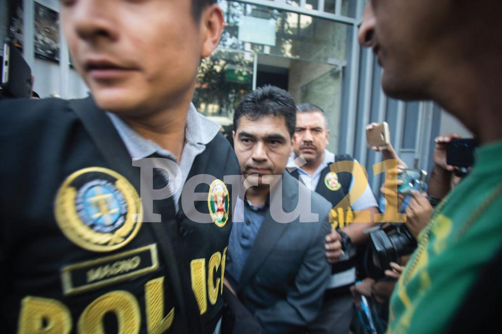 José Isla Montaño es abogado y cercano al dirigente Edwin Oviedo. (Nadia Quinteros)