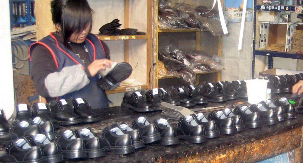 Se reactivará la fabricación de calzado. (Foto: GEC)