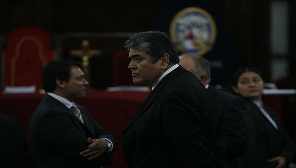 Ponce Feijoo durante una de las audiencias del proceso. (Perú21)