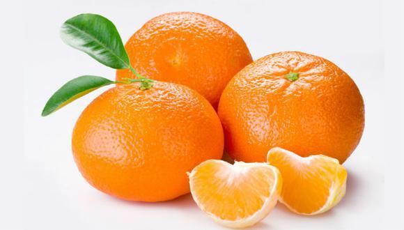 El principal componente de las mandarinas es el agua y  cuentan con unos niveles de azúcar muy bajos. (Foto: Wikipedia)