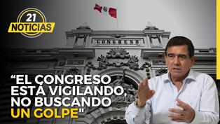 """José Williams: """"El Congreso está vigilando, no buscando un golpe"""""""