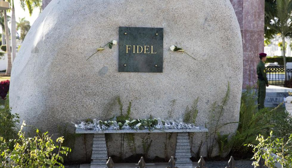 Fidel Castro: Sus cenizas fueron inhumadas en el cementerio Santa Ifigenia de Santiago de Cuba. (EFE)