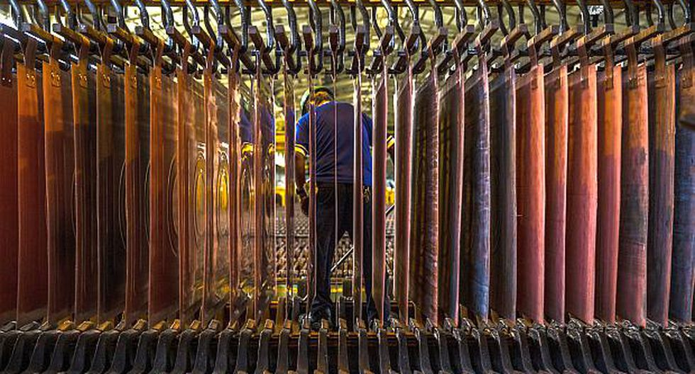 El cobre concentra el 30% de las exportaciones totales del país. (Foto: AFP)