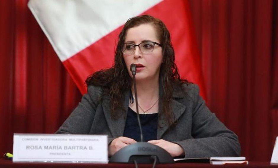 Rosa Bartra negó que el Congreso sea obstruccionista. (Foto: GEC)