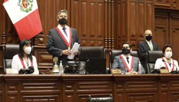 El presidente Sagasti expresó que proyectos estarían motivados por las elecciones (Congreso).