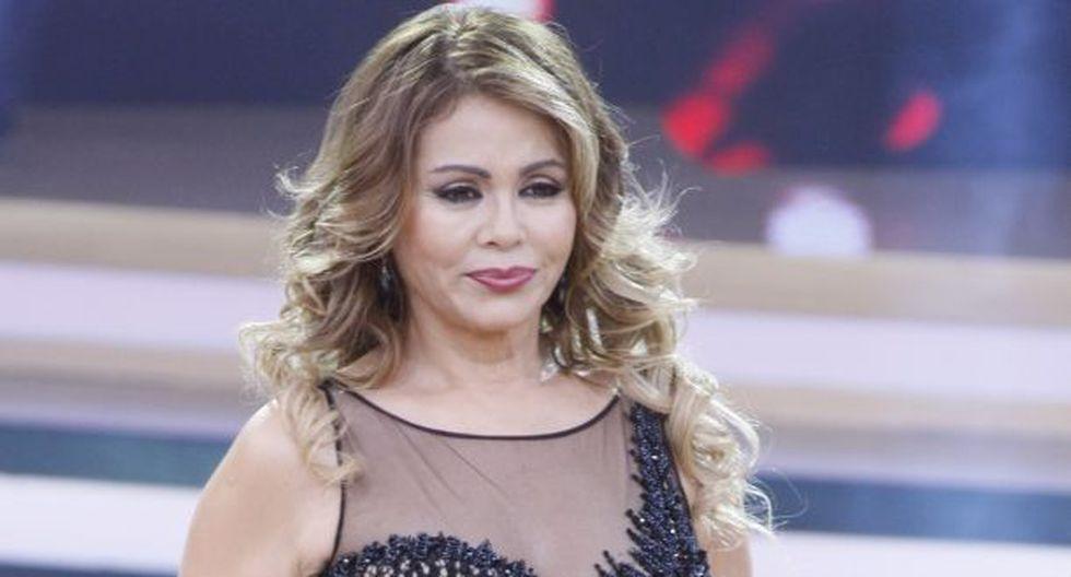Gisela Valcárcel llamó en vivo a Magaly Medina. (GEC)