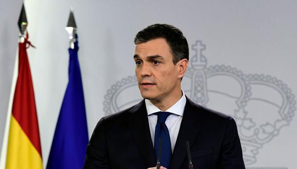 Sánchez no pasa la primera prueba. (AFP)