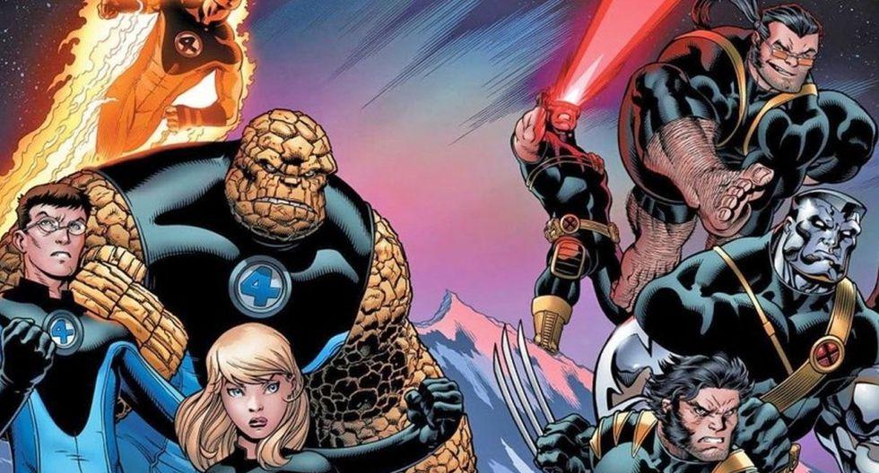 """""""Los Cuatro Fantásticos"""" y """"X-Men"""" entre los futuros planes de Marvel Studios. (Foto: Marvel)"""