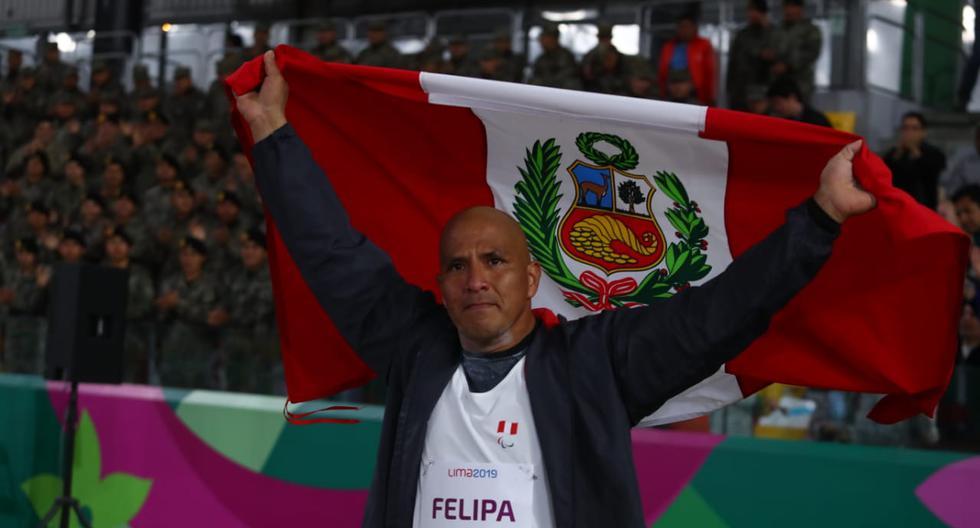 Carlos Felipa ganó una medalla de plata en lanzamiento de bala. (Foto: Alessandro Currarino)