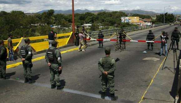 Caracas rompió relaciones diplomáticas con Bogotá en el mes de febrero. (Foto: Reuters)