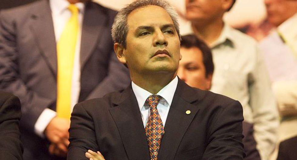 Omar Quesada dijo que Apra podría retomar diálogo con Ejecutivo. (Rafael Cornejo)