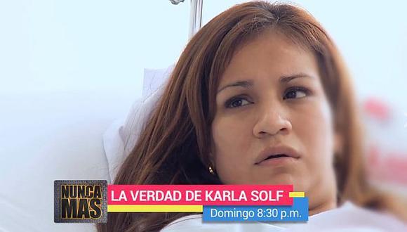 Karla Solf reveló que Ronny García la amenazó de muerte en reiteradas oportunidades. (ATV)