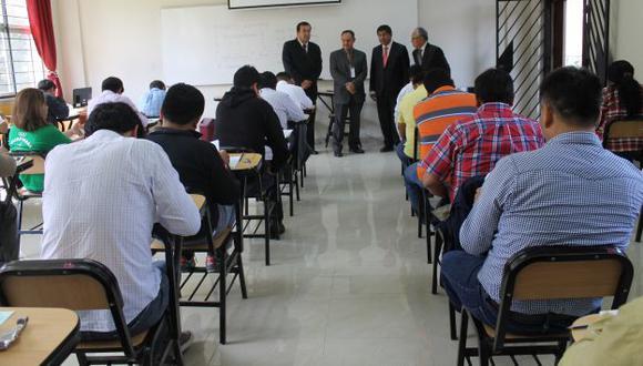 CNM: Más de 4 mil postulantes a jueces y fiscales rindieron examen. (Difusión)